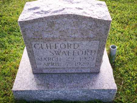 SWAFFORD, CLIFFORD - Bledsoe County, Tennessee | CLIFFORD SWAFFORD - Tennessee Gravestone Photos