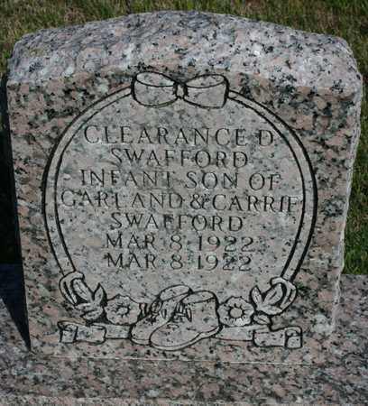 SWAFFORD, CLEARANCE D. - Bledsoe County, Tennessee | CLEARANCE D. SWAFFORD - Tennessee Gravestone Photos