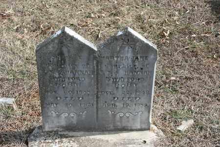 SWAFFORD, MARTHA JANE - Bledsoe County, Tennessee | MARTHA JANE SWAFFORD - Tennessee Gravestone Photos