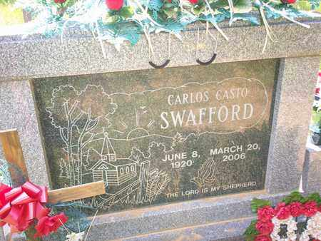 SWAFFORD, CARLOS CASTO - Bledsoe County, Tennessee | CARLOS CASTO SWAFFORD - Tennessee Gravestone Photos