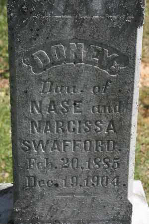 SWAFFORD, DONEY - Bledsoe County, Tennessee | DONEY SWAFFORD - Tennessee Gravestone Photos