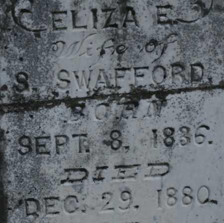 SWAFFORD, ELIZA E. - Bledsoe County, Tennessee | ELIZA E. SWAFFORD - Tennessee Gravestone Photos