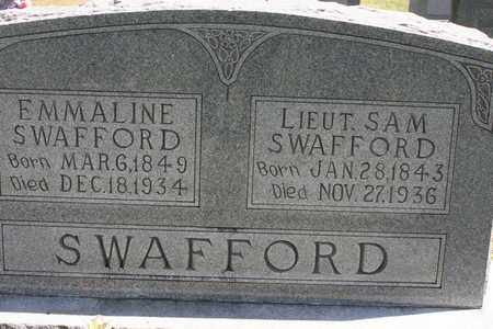 SWAFFORD, EMMALINE - Bledsoe County, Tennessee | EMMALINE SWAFFORD - Tennessee Gravestone Photos