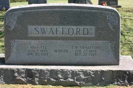SWAFFORD, THOMAS YOUNG - Bledsoe County, Tennessee | THOMAS YOUNG SWAFFORD - Tennessee Gravestone Photos