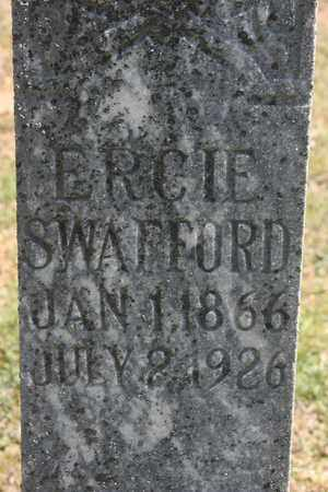 SWAFFORD, ERCIE - Bledsoe County, Tennessee | ERCIE SWAFFORD - Tennessee Gravestone Photos