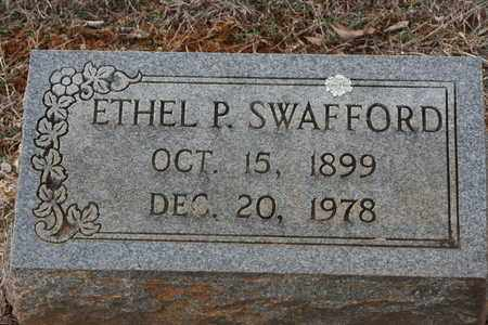 SWAFFORD, ETHEL P. - Bledsoe County, Tennessee | ETHEL P. SWAFFORD - Tennessee Gravestone Photos