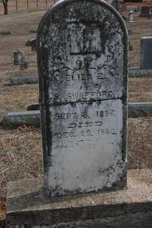 SWAFFORD, ELIZA EMILINE - Bledsoe County, Tennessee | ELIZA EMILINE SWAFFORD - Tennessee Gravestone Photos