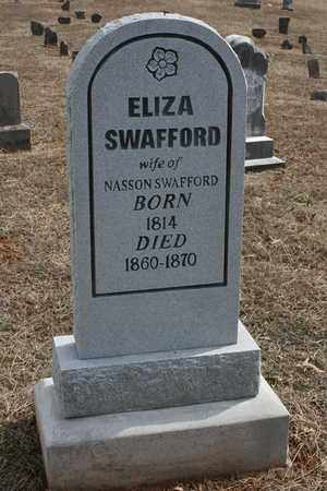 SWAFFORD, ELIZA - Bledsoe County, Tennessee | ELIZA SWAFFORD - Tennessee Gravestone Photos