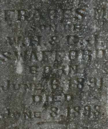 SWAFFORD, FRAGES - Bledsoe County, Tennessee   FRAGES SWAFFORD - Tennessee Gravestone Photos