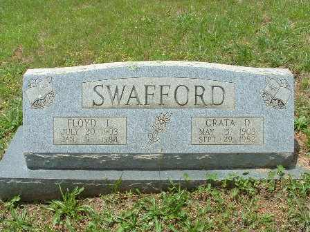 SWAFFORD, SYCRATE DUNN - Bledsoe County, Tennessee | SYCRATE DUNN SWAFFORD - Tennessee Gravestone Photos