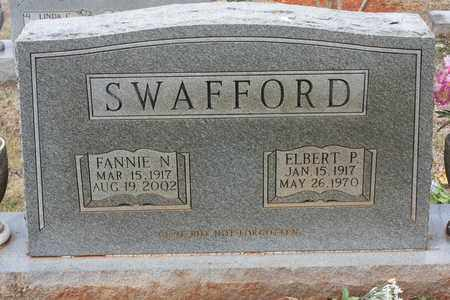 SWAFFORD, FRANNIE N. - Bledsoe County, Tennessee | FRANNIE N. SWAFFORD - Tennessee Gravestone Photos