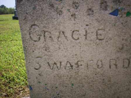 SWAFFORD, GRACIE - Bledsoe County, Tennessee   GRACIE SWAFFORD - Tennessee Gravestone Photos