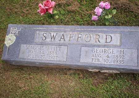 SWAFFORD, MAGGIE EVITT - Bledsoe County, Tennessee | MAGGIE EVITT SWAFFORD - Tennessee Gravestone Photos