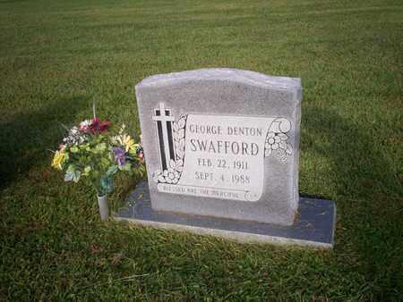 SWAFFORD, GEORGE DENTON - Bledsoe County, Tennessee   GEORGE DENTON SWAFFORD - Tennessee Gravestone Photos