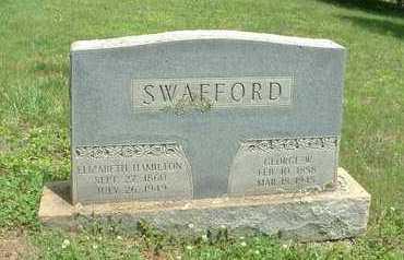 SWAFFORD, GEORGE W. - Bledsoe County, Tennessee | GEORGE W. SWAFFORD - Tennessee Gravestone Photos