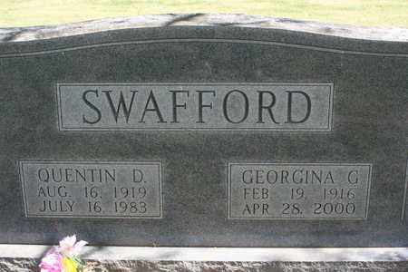 SWAFFORD, QUENTIN DATE - Bledsoe County, Tennessee | QUENTIN DATE SWAFFORD - Tennessee Gravestone Photos