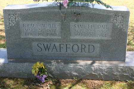 SWAFFORD, GRACIE WHITE - Bledsoe County, Tennessee | GRACIE WHITE SWAFFORD - Tennessee Gravestone Photos