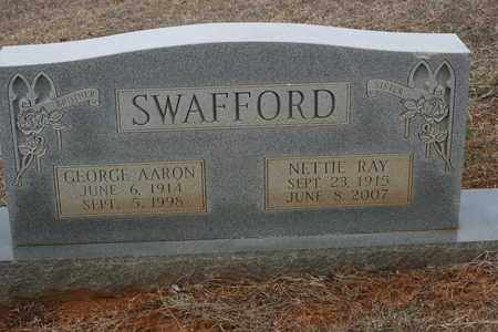 SWAFFORD, GEORGE AARON - Bledsoe County, Tennessee | GEORGE AARON SWAFFORD - Tennessee Gravestone Photos