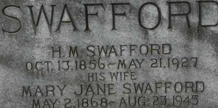 SWAFFORD, H.M. - Bledsoe County, Tennessee | H.M. SWAFFORD - Tennessee Gravestone Photos