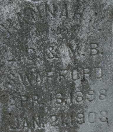 SWAFFORD, HANNAH M. - Bledsoe County, Tennessee | HANNAH M. SWAFFORD - Tennessee Gravestone Photos