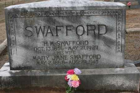 SWAFFORD, MARY JANE - Bledsoe County, Tennessee | MARY JANE SWAFFORD - Tennessee Gravestone Photos