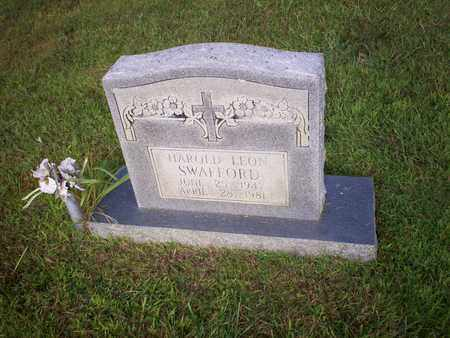 SWAFFORD, HAROLD LEON - Bledsoe County, Tennessee | HAROLD LEON SWAFFORD - Tennessee Gravestone Photos