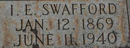 SWAFFORD, I.E. - Bledsoe County, Tennessee | I.E. SWAFFORD - Tennessee Gravestone Photos