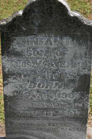 SWAFFORD, INFANT SON - Bledsoe County, Tennessee | INFANT SON SWAFFORD - Tennessee Gravestone Photos