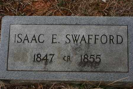 SWAFFORD, ISAAC E. - Bledsoe County, Tennessee | ISAAC E. SWAFFORD - Tennessee Gravestone Photos