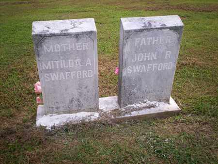 SWAFFORD, MATILDA ANN ETHERTON - Bledsoe County, Tennessee | MATILDA ANN ETHERTON SWAFFORD - Tennessee Gravestone Photos
