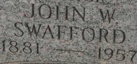 SWAFFORD, JOHN W. - Bledsoe County, Tennessee | JOHN W. SWAFFORD - Tennessee Gravestone Photos