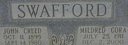 SWAFFORD, MILDRED CORA - Bledsoe County, Tennessee | MILDRED CORA SWAFFORD - Tennessee Gravestone Photos