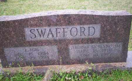 SWAFFORD, VIRGINIA ELENORA - Bledsoe County, Tennessee | VIRGINIA ELENORA SWAFFORD - Tennessee Gravestone Photos