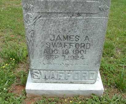 SWAFFORD, JAMES AARON JR. - Bledsoe County, Tennessee | JAMES AARON JR. SWAFFORD - Tennessee Gravestone Photos