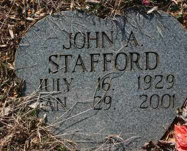 SWAFFORD, JOHN A. - Bledsoe County, Tennessee | JOHN A. SWAFFORD - Tennessee Gravestone Photos