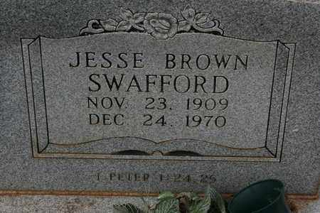 SWAFFORD, JESSE BROWN - Bledsoe County, Tennessee | JESSE BROWN SWAFFORD - Tennessee Gravestone Photos