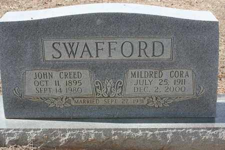 SWAFFORD, JOHN CREED - Bledsoe County, Tennessee | JOHN CREED SWAFFORD - Tennessee Gravestone Photos