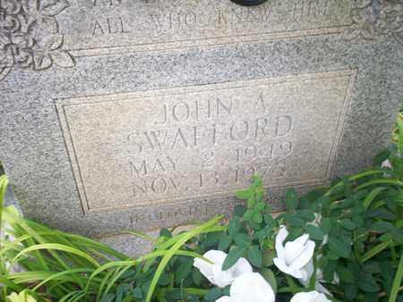 SWAFFORD, JOHN ALFRED - Bledsoe County, Tennessee   JOHN ALFRED SWAFFORD - Tennessee Gravestone Photos