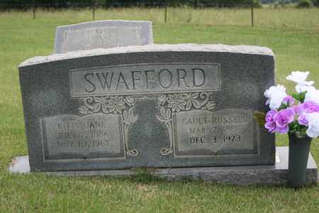 SWAFFORD, GAULT RUSSELL - Bledsoe County, Tennessee | GAULT RUSSELL SWAFFORD - Tennessee Gravestone Photos
