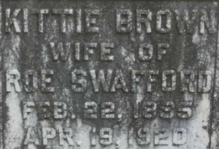 SWAFFORD, KITTIE - Bledsoe County, Tennessee | KITTIE SWAFFORD - Tennessee Gravestone Photos