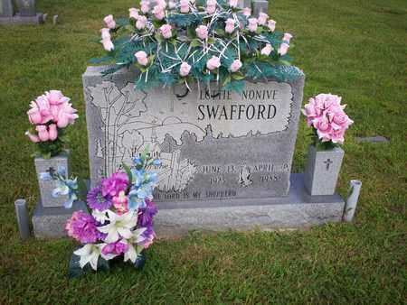 SWAFFORD, LOTTIE NONIVE - Bledsoe County, Tennessee | LOTTIE NONIVE SWAFFORD - Tennessee Gravestone Photos