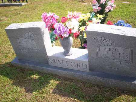 SWAFFORD, VERSIE E. - Bledsoe County, Tennessee | VERSIE E. SWAFFORD - Tennessee Gravestone Photos