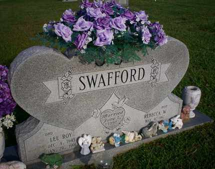 SWAFFORD, LEE ROY - Bledsoe County, Tennessee | LEE ROY SWAFFORD - Tennessee Gravestone Photos