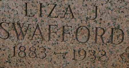 SWAFFORD, LIZA J. - Bledsoe County, Tennessee | LIZA J. SWAFFORD - Tennessee Gravestone Photos