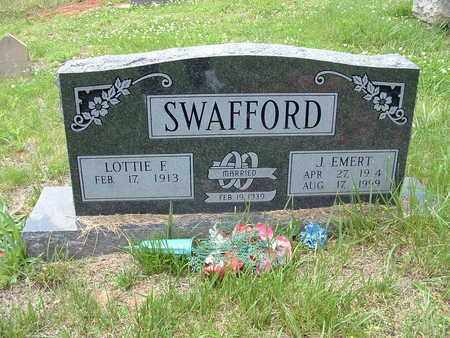 SWAFFORD, LOTTIE F. - Bledsoe County, Tennessee | LOTTIE F. SWAFFORD - Tennessee Gravestone Photos