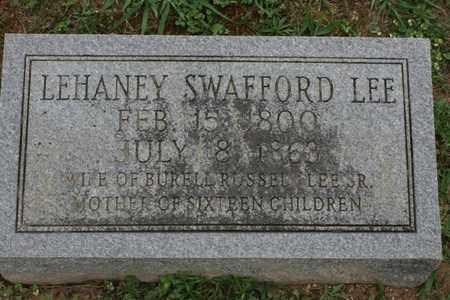 SWAFFORD, LEHANEY PARALEE - Bledsoe County, Tennessee | LEHANEY PARALEE SWAFFORD - Tennessee Gravestone Photos