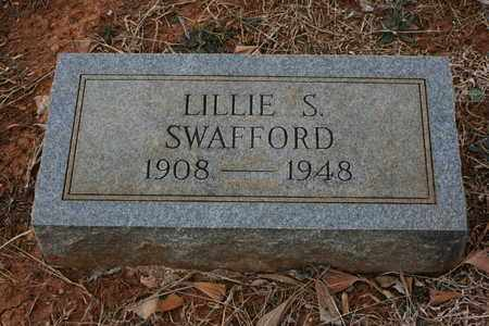 SWAFFORD, LILLIE S. - Bledsoe County, Tennessee | LILLIE S. SWAFFORD - Tennessee Gravestone Photos