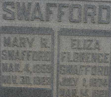 SWAFFORD, MARY R. - Bledsoe County, Tennessee | MARY R. SWAFFORD - Tennessee Gravestone Photos