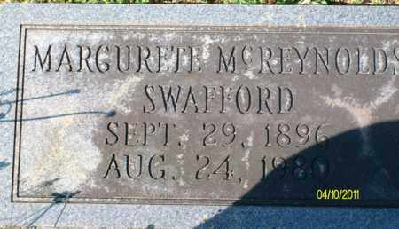SWAFFORD, MARGURETE - Bledsoe County, Tennessee   MARGURETE SWAFFORD - Tennessee Gravestone Photos