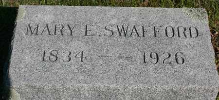 SWAFFORD, MARY E. - Bledsoe County, Tennessee | MARY E. SWAFFORD - Tennessee Gravestone Photos